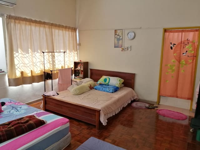 Comfy Master Bedroom at Sunway Carnival Penang