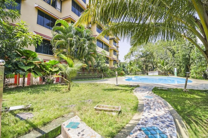 Service apartment close to Vagator beach