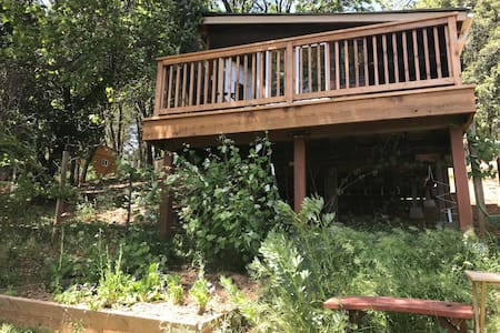 Cozy & Serene Tree House w Amazing Views!