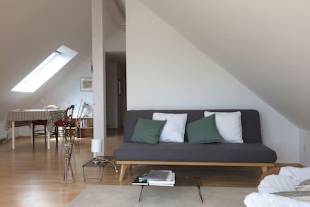 Bezaubernde sonnige Wohnung direkt neben Straßburg