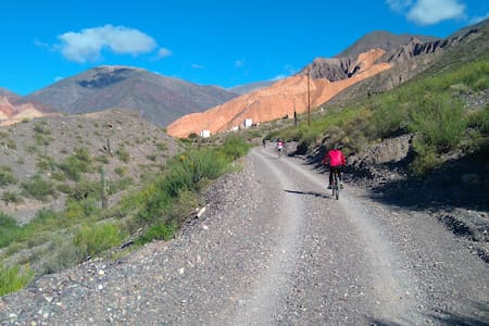 Mountain bike in Tilcara - Tilcara