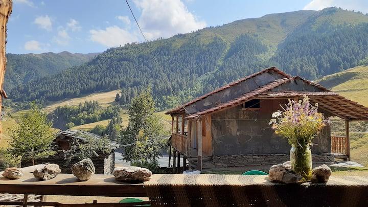 Rent a room and start exploring Tusheti