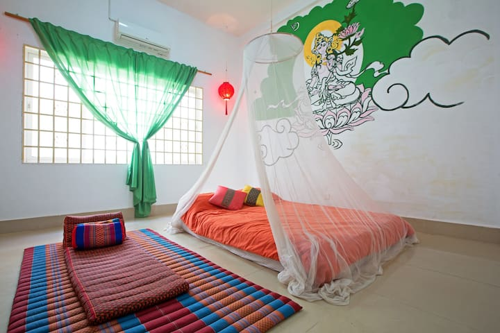 Chill-out room,Home stay - Kokchok, Siem Reap, Siemreab-Otdar Meanchey,  - Casa