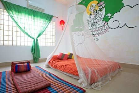 Chill-out room,Home stay - Kokchok, Siem Reap, Siemreab-Otdar Meanchey,  - House