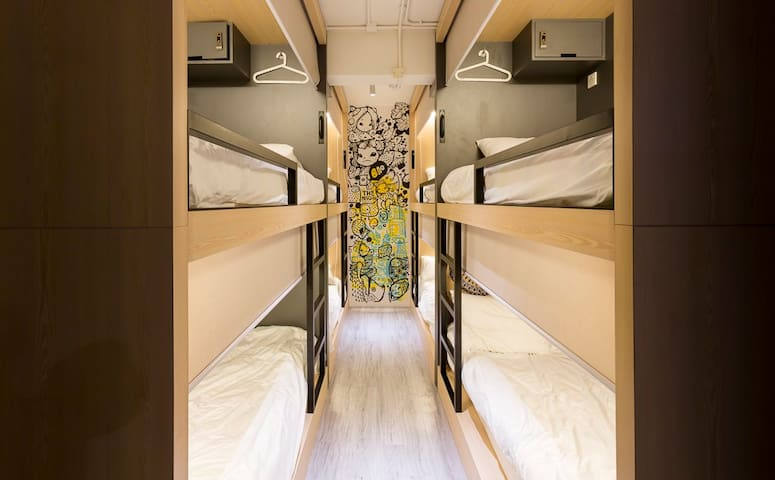 4.2 Female Only Pod. Private Bathroom