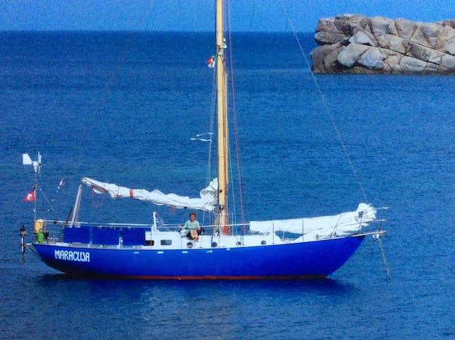 Segelschiff als Unterkunft - Portoferraio - Лодка
