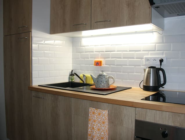 Classy Condo 15min to Paris with parking+breakfast