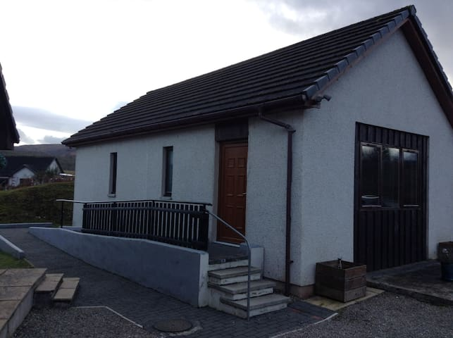 Comfortable 2 bedroom property near Loch Ness