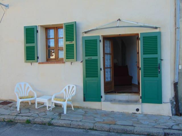studio entre mer et montagne - Belgodère - Haus