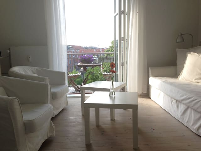 Bright and spacious room in Copenhagen - København - Apartment