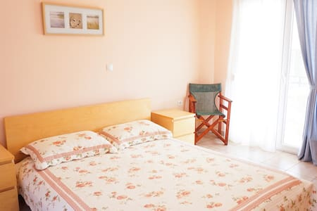Lovely apartment in Golden Beach, Thasos - Thasos - Pis