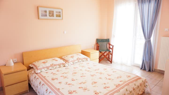 Lovely apartment in Golden Beach, Thasos