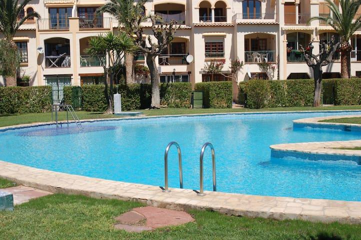Ideal bungalow con piscina en El Arenal de Jávea - Platja de l'Arenal