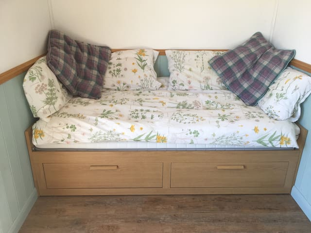 As a daybed