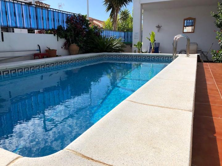 El Escondite, with own pool, garden and terraces