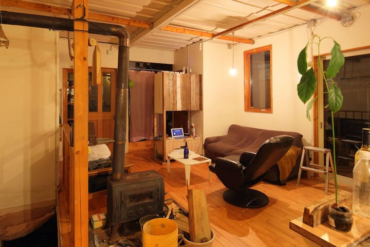 surfer'shouse, B&B,surf,1hour from Narita,choshi - Asahi-shi - Maison