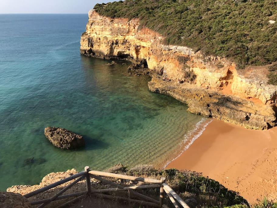 Beach: Namorados - 7 min by foot