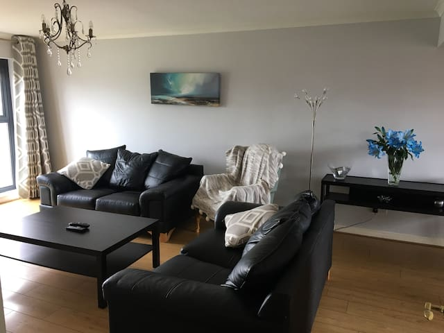 Spacious, City Centre 3 bedroom apt, Parking/WiFi