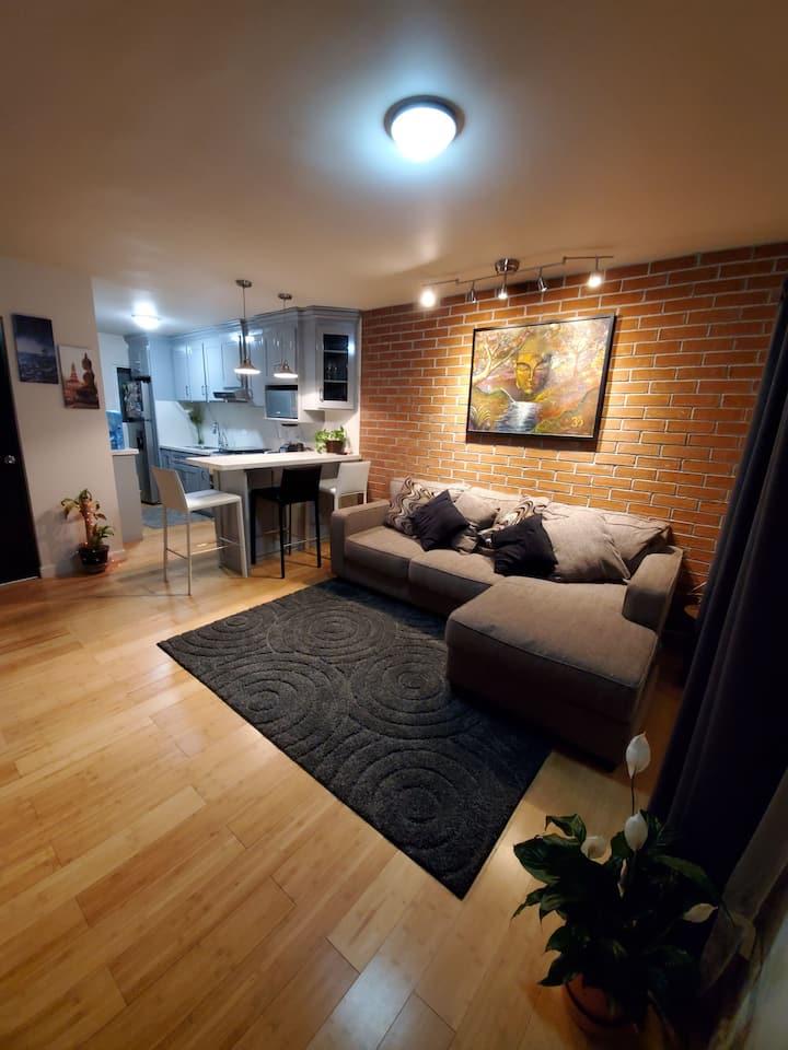 Condominio con  hermosa vista en el 4to piso