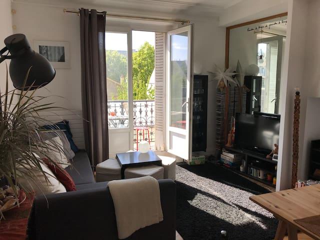 Chambre dans appartement proche bois de Vincennes