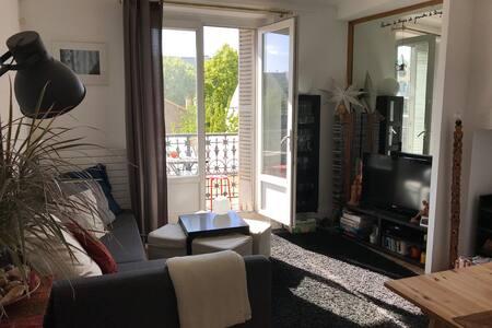 Chambre privée dans appartement partagé près bois