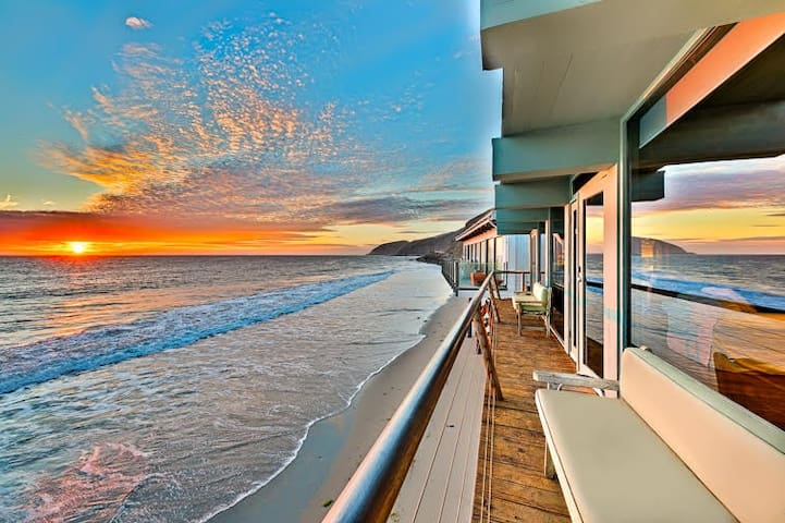 Stunning Luxury Beach Home w/ Large Deck + Endless Ocean Views