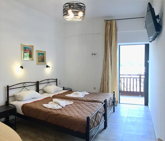 Platanos Anopoli Sfakia Mountain View double room.