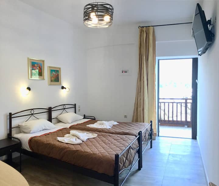 Platanos Anopoli Sfakia Mountain View double room.