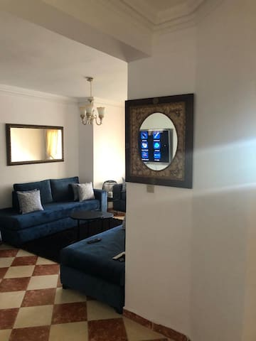 Apt Modern Heart of Tangier with  Beach/Mall/Pool