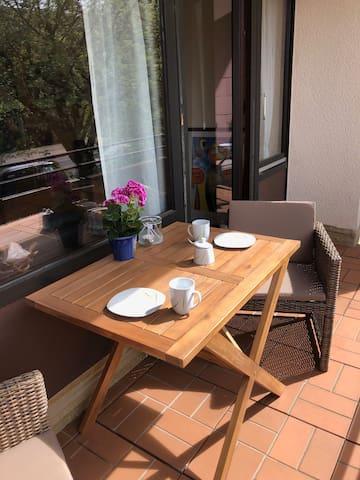 Sonnige Wohnung in Clausthal mit Balkon