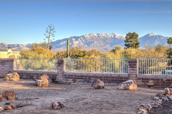 Santa Rita Mountain View ~ Birds, Books, Beauty!