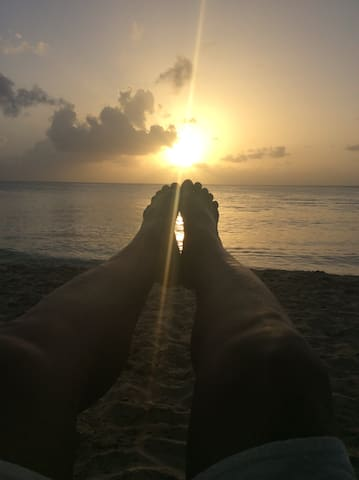 Sunset in Speightstown