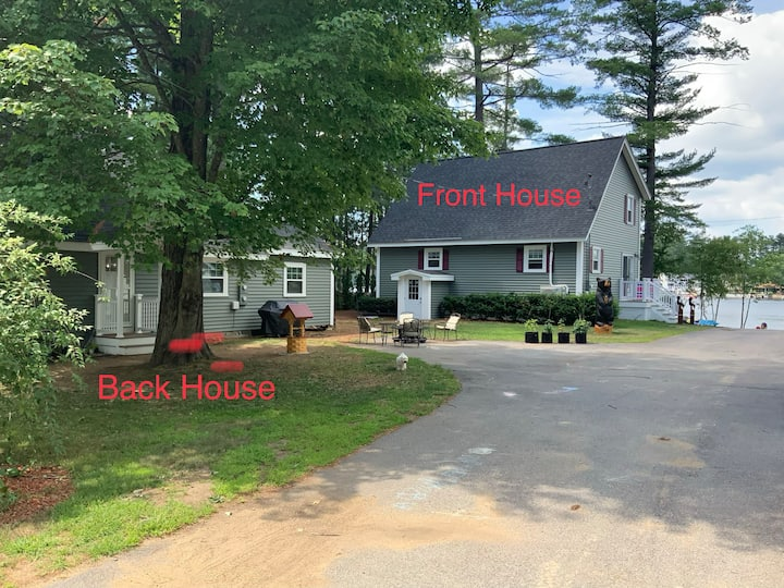 Winnisquam Waterfront Homes w/dock & boat ramp