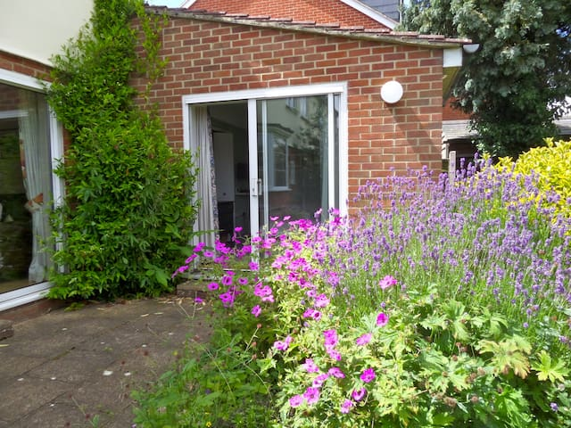 Central yet quiet ensuite double room - Abingdon