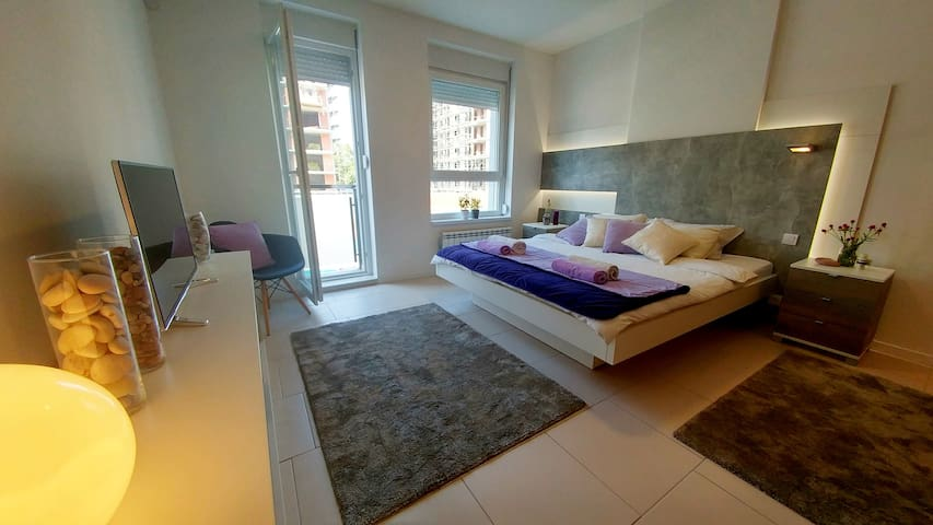 Luxury mediteraneo A blok SAVADA - Belgrado - Appartement