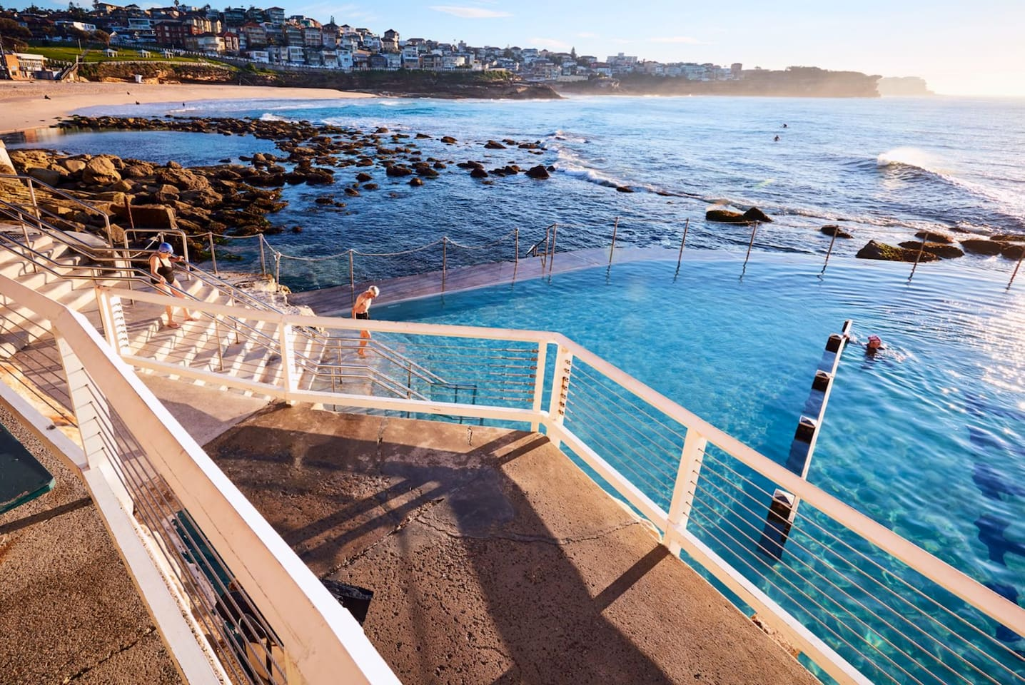 Bronte beach and pools (15 minute walk or public transport/uber available).
