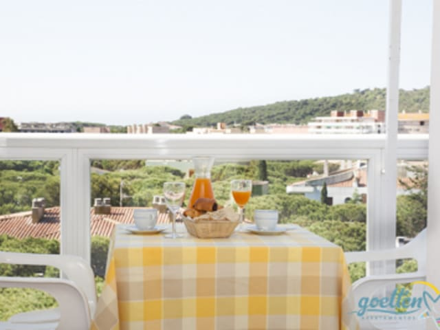 Apartment in Platja d'Aró center with WiFi and reception, dogs accepted - GO-I