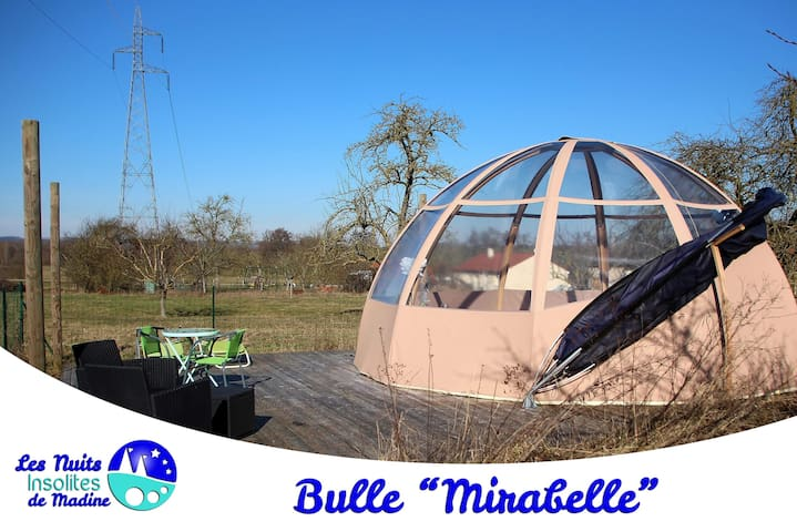 bulle pour 2 adultes ou 2 adultes et 2 enfants