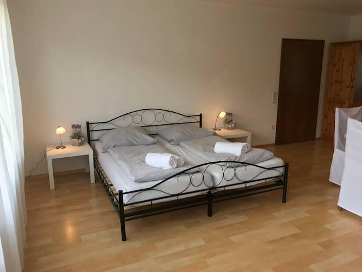 Großes Apartment mit 2 Schlafzimmer in Miltenberg