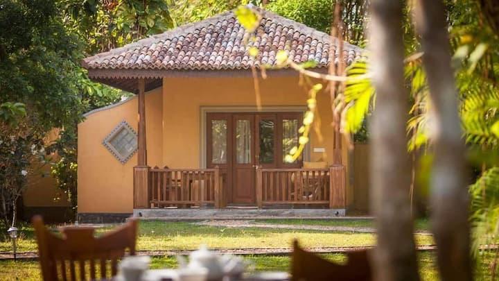 Birds Paradise 3 Cabanas with paddy view