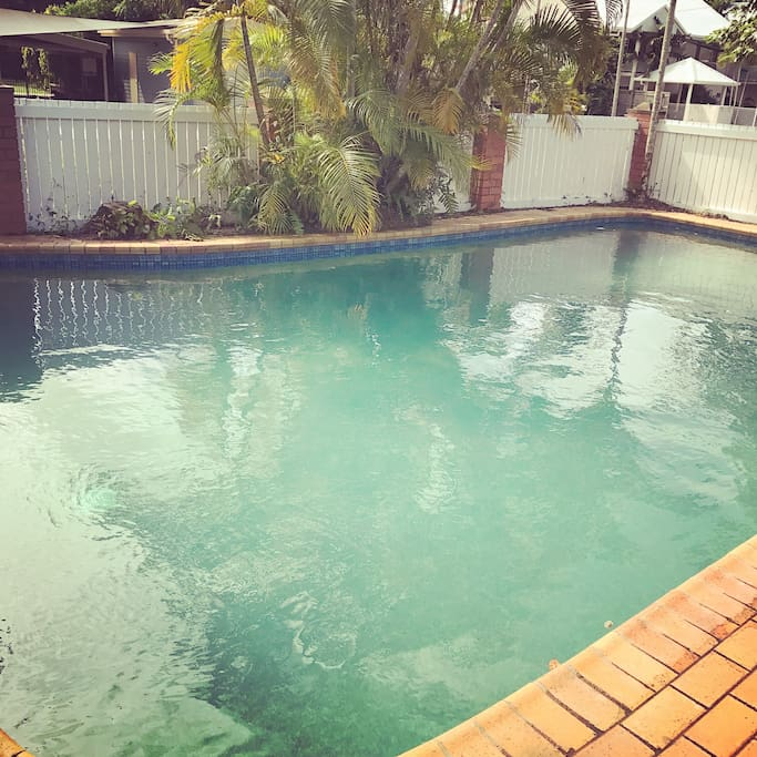 Take a dip in our huge pool