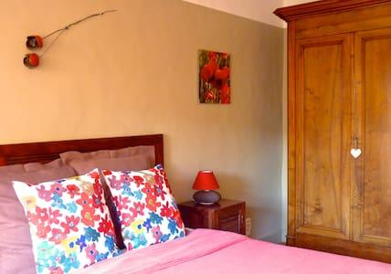L'Autre Maison - Chambre Capitelle - Saint-Jean-de-Ceyrargues - Bed & Breakfast
