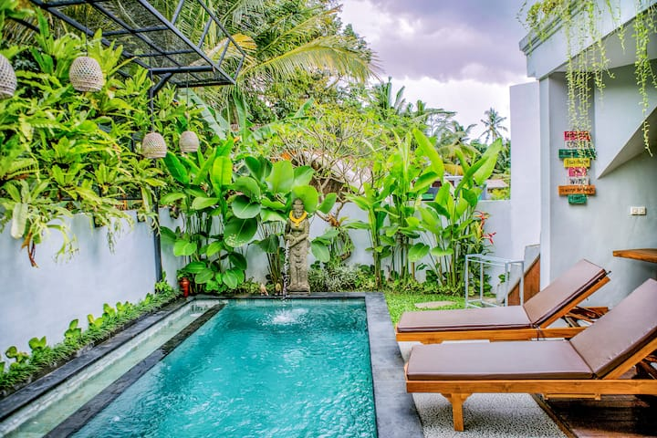 TAMYANG UBUD VILLAS with PRIVATE POOL