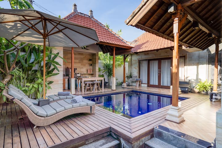 Boutique Two Bedroom Villa in Central Sanur