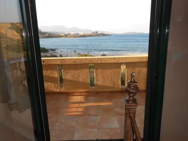 Paradise overlooking the sea