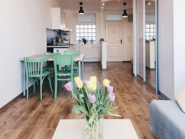 Cosy downtown apartment for your weekend holiday