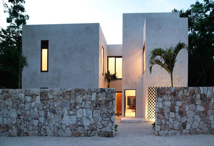 The mayan jungle house - Tulum - Casa