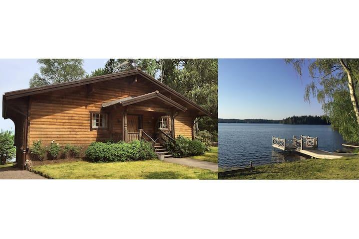 Idylliskt hus med egen brygga, 5 min från Vimmerby