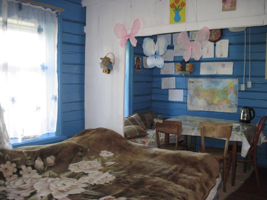 Главная комната
