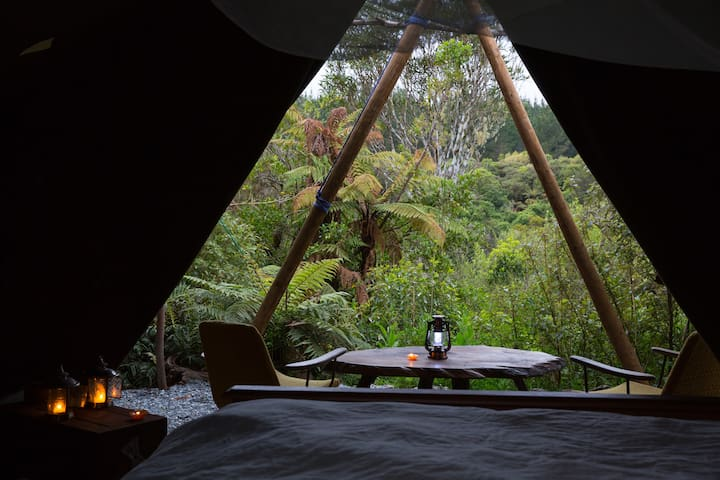 Kaniere Tailings Luxury Camping